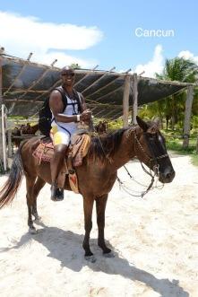 Cancun horseback